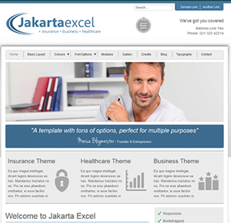 joomla insurance template, joomla business template, healthcare template