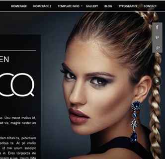 Joomla Beauty elegant stylish Template
