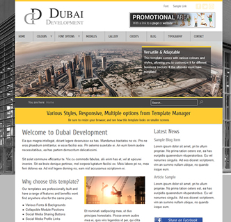 joomla template construction builders engineering architecture