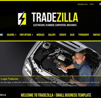Electrician Joomla Template, Carpenter Joomla Template, MEchanic Joomla Template, Car Joomla Template, Black theme Joomla template, Small business joomla template, the best responsive joomla template, joomla template with black background, joomla builders website template