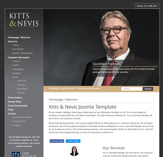 joomla lawyer solicitor legal firm template