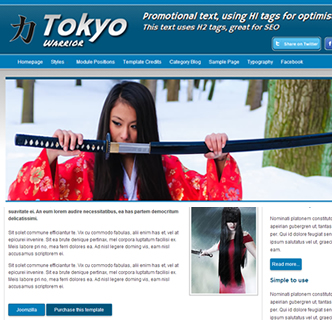 karate martial arts joomla template urban