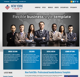 Joomla Business Financial Services Template