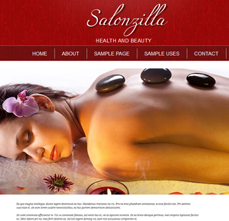 joomla salon beauty template