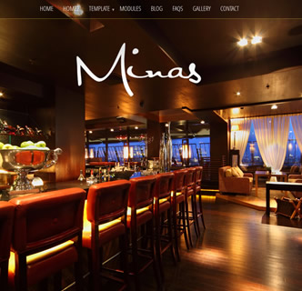 joomla responsive bootstrap restaurnt dining cafe template