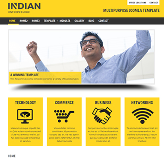 joomla business template bootstrap responsive the best joomla
